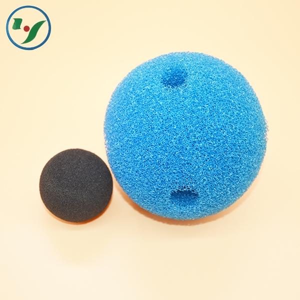 过滤海绵球