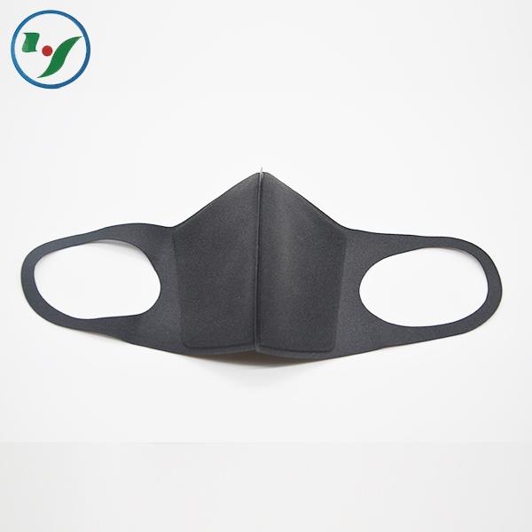 灰黑色海绵口罩